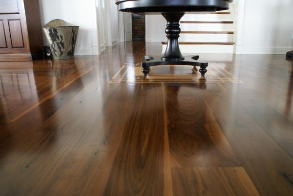 Rustic Walnut Flooring Project Kentucky Appalachian